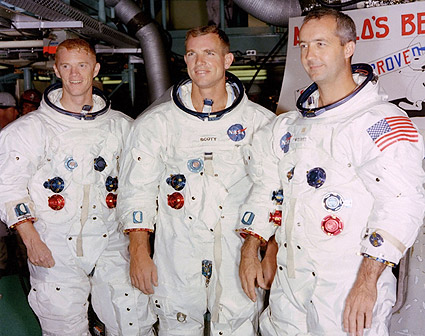 Scott, McDivitt & Schweickart Apollo 9  Photo Print