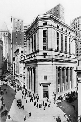 Seaboard National Bank on Wall Street NYC Photo Print