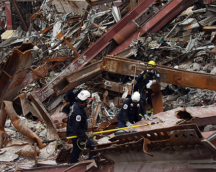 Search and Rescue Team 9/11 Photo Print