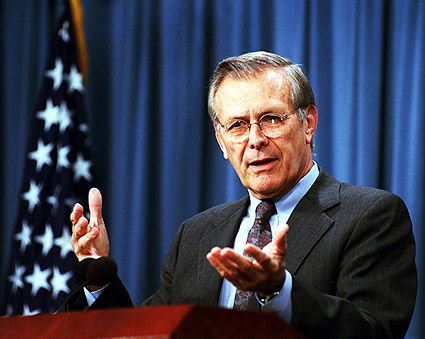 Secretary of Defense Donald Rumsfeld Photo Print