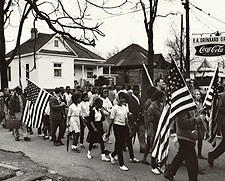 Selma to Montgomery Civil Rights March 1965 Photo Print for Sale