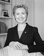 Senator Hillary Rodham Clinton Portrait Photo Print for Sale