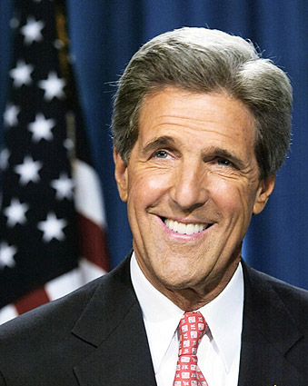 Senator John Kerry Portrait Photo Print