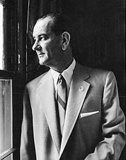 Senator Lyndon B Johnson Portrait Photo Print for Sale