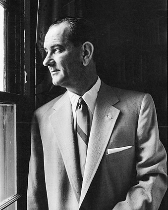 Senator Lyndon B Johnson Portrait Photo Print
