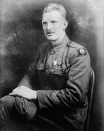Sergeant Alvin C. York WWI Hero Portrait Photo Print