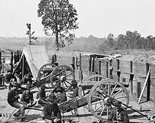 Sherman & Confederate Fort Civil War 1864 Photo Print for Sale