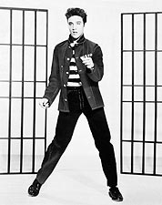 Singer Elvis Presley Jailhouse Rock 1957 Photo Print for Sale
