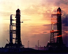 Skylab 1 and Skylab 2 at Kennedy Space Center Photo Print for Sale