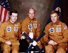 Skylab 2 Prime Crew Kerwin, Conrad & Weitz Photo Print for Sale
