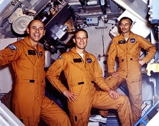 Skylab 3 Prime Crew Bean, Garriott & Lousma Photo Print