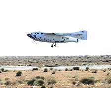 SpaceShipOne 1st Flight Into Space Photo Print for Sale