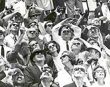 Spectators During Apollo 10 Launch NASA Photo Print for Sale