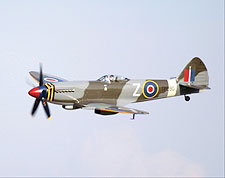 British Spitfire Mk XVIII Aircraft Photo Print for Sale