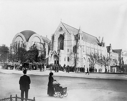 St. John Cathedral Harlem New York 1913 Photo Print
