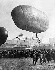 St. Louis Fair California Arrow Airship Photo Print for Sale