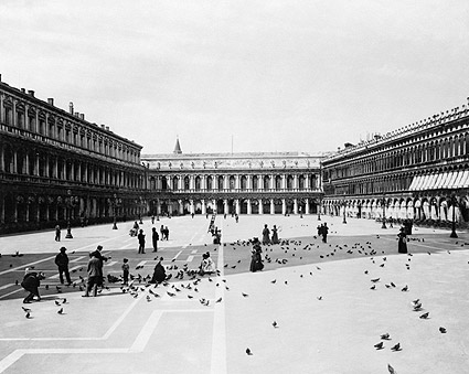 St. Marks Square Venice Italy 1890 Photo Print