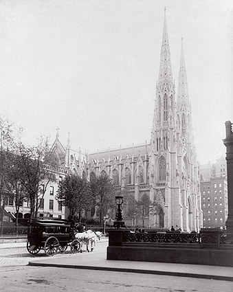 St. Patrick's Cathedral New York City 1894 Photo Print