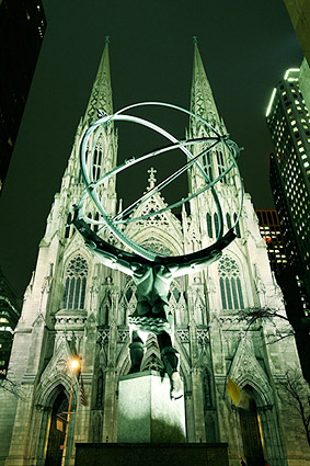 St. Patrick's Cathedral New York City Photo Print