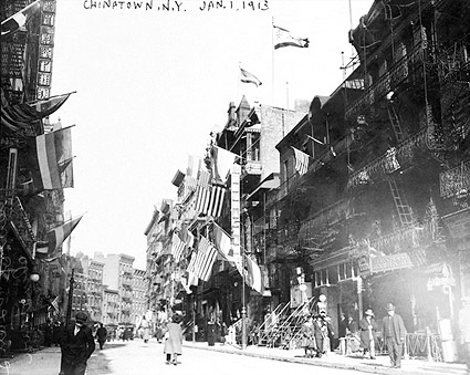 Stanton Street New York City Chinatown 1913 Photo Print