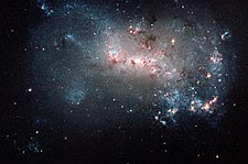 Starburst Star Formation Hubble Space Telescope Photo Print for Sale