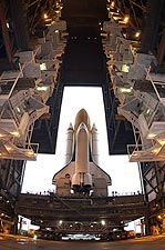 STS-107 Space Shuttle Columbia Rollout NASA Photo Print for Sale