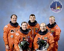 STS-26 Return to Flight Crew Portrait NASA Photo Print for Sale