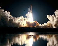 STS-93 Space Shuttle Columbia Launch NASA Photo Print for Sale