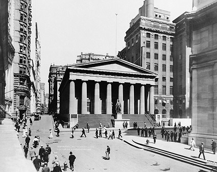 Subtreasury Building Wall St, New York City Photo Print