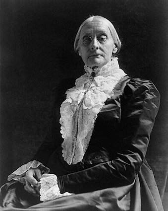 Susan B. Anthony Portrait  Photo Print
