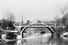 Swan Boat & Bridge Central Park New York Photo Print for Sale