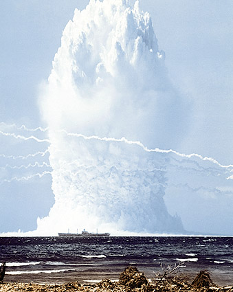 Swordfish Nuclear Bomb Explosion Photo Print