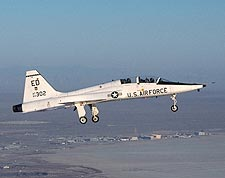 T-38 Talon Trainer in Flight US Air Force Photo Print for Sale
