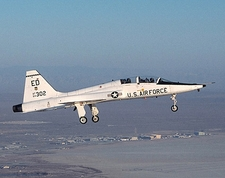 T-38 Talon Trainer in Flight US Air Force Photo Print