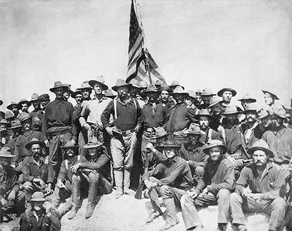 Teddy Roosevelt and the Rough Riders 1898 Photo Print