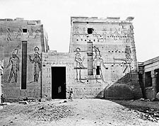 Temple of Isis Philae Island Nile River Egypt Photo Print for Sale