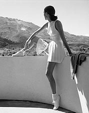 Tennis Fashion Model 1947 Toni Frissell Photo Print for Sale