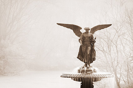 The Bethesda Fountain Central Park NYC Photo Print