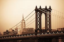 The Manhattan Bridge New York City Photo Print for Sale