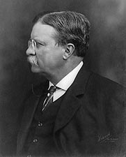 Theodore Teddy Roosevelt Profile Portrait Photo Print for Sale