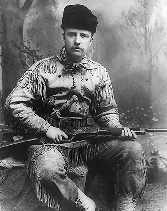 Theodore Teddy Roosevelt the Hunter 1885 Photo Print