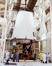 Third Stage Adapter and Lunar Module Apollo 13 NASA Photo Print for Sale
