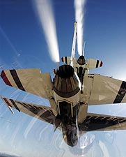 Thunderbirds F-16 Falcons View from Cockpit Photo Print for Sale