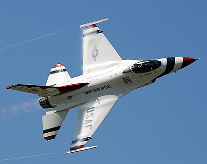 Thunderbirds F-16 High Speed Sneak Pass Photo Print
