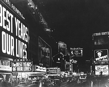 Times Square NYC  'Best Years of Our Lives' Photo Print