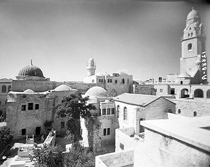 Tomb of King David Jerusalem Israel 1940s Photo Print