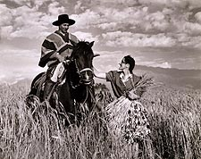 Toni Frissell Chilean Couple in Wheatfield Photo Print for Sale