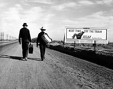 Toward Los Angeles, Dorothea Lange FSA Photo Print for Sale