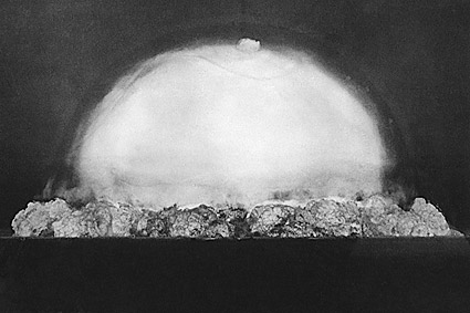 Trinity Test 1st Atomic Bomb Explosion Photo Print
