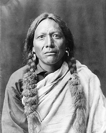 Tull Chee Hah Edward S. Curtis Portrait Photo Print